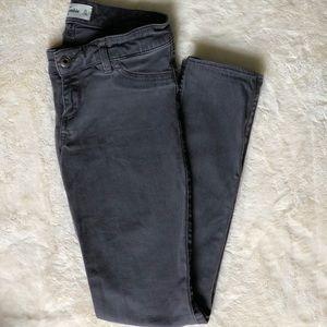 Abercrombie Kids grey skinny  Jeggings Jeans Sz 16